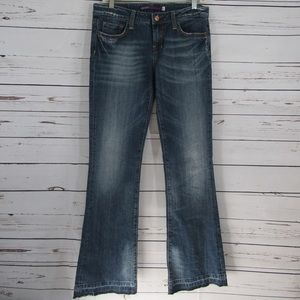 """Vigoss Collection flare jeans size 5. 34"""" inseam"""